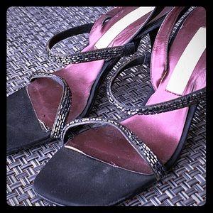 Nina Beaded Heels